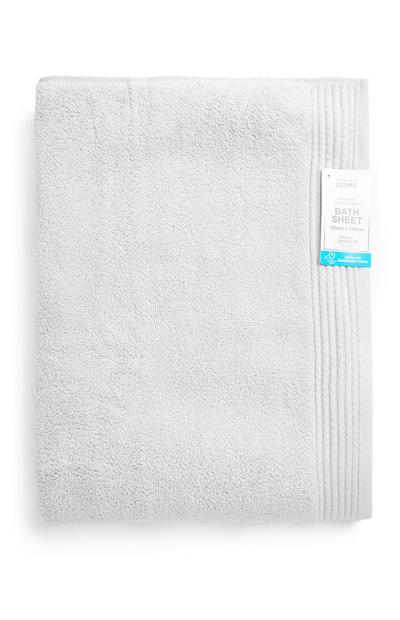Silver Ultra Soft Xl Bath Sheet