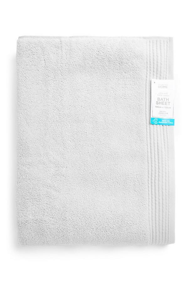 Silver Ultra Soft XL Bath Sheet