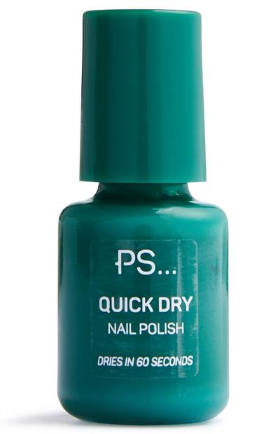 Green Mini Fast Dry Nail Polish