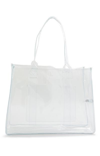Large Clear Perspex Shopper Bag