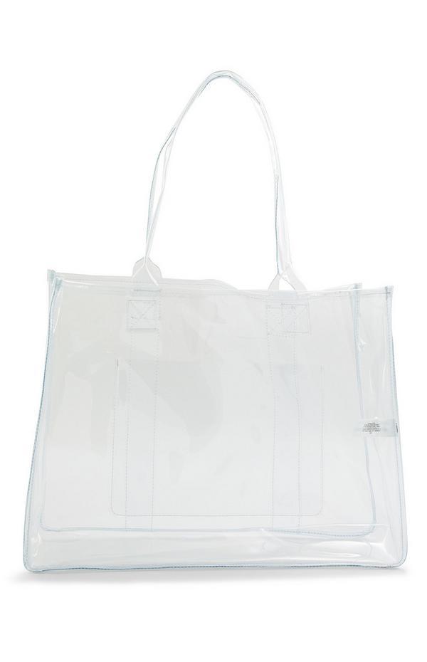 Large Clear Perspex Shopper Bag