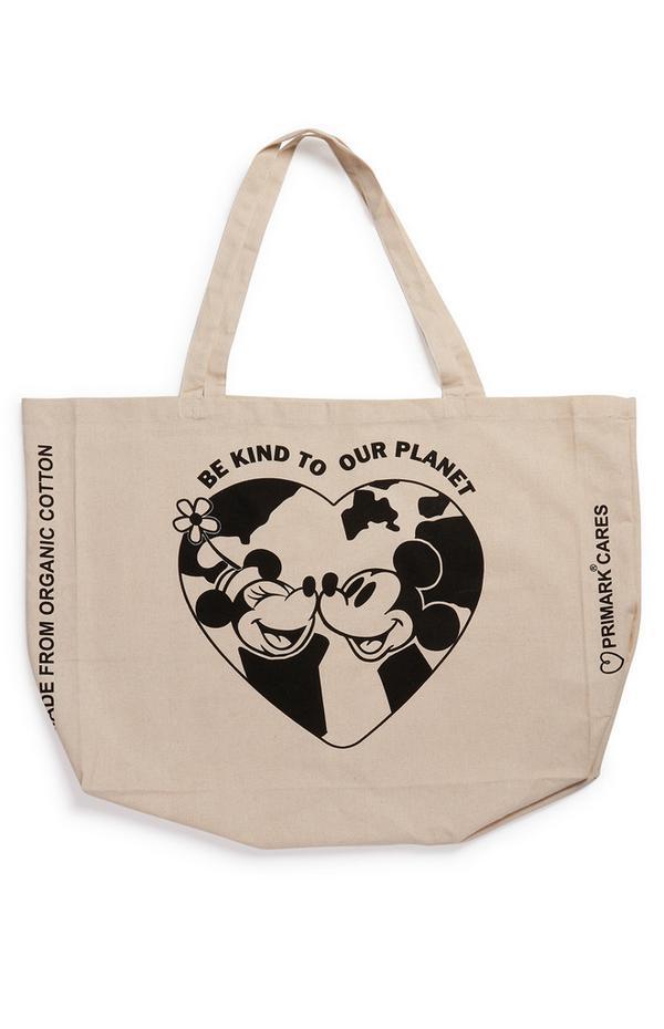 Borsa shopper Xl Topolino Disney Primark Cares