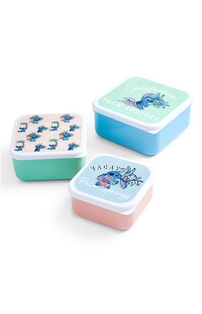 Disney Lilo And Stitch Snack Pots With Lids