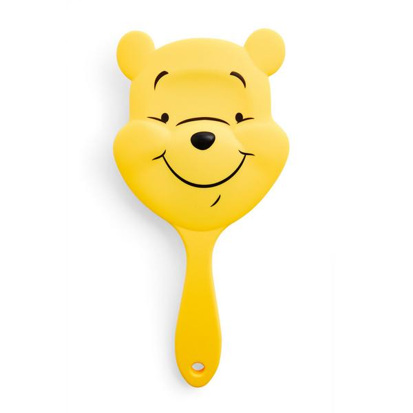 Cepillo de pelo de paleta amarillo de Winnie The Pooh