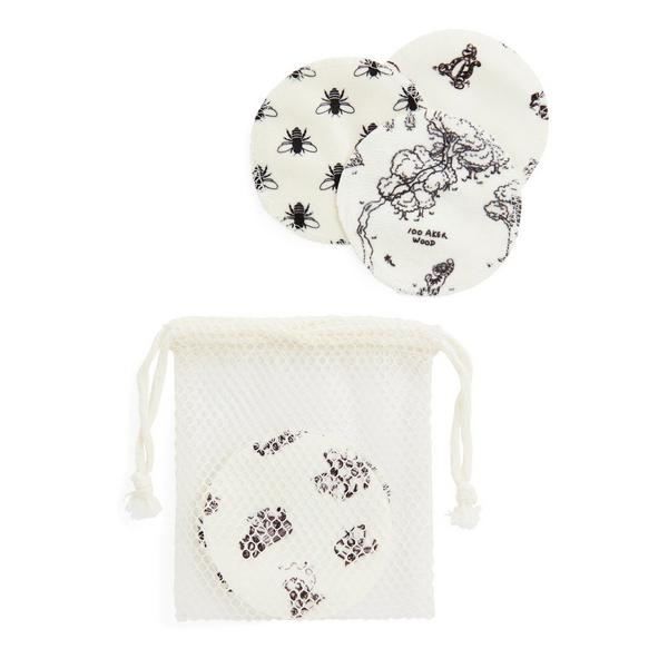 White Winnie The Pooh Cleansing Pads
