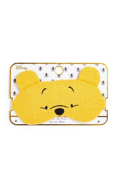 """Gelbe """"Winnie Puuh"""" Gel-Schlafmaske"""