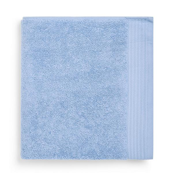 Blue Ultra Soft Bath Towel