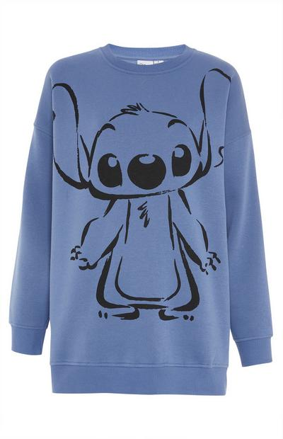 Blauwe sweater Disney Lilo & Stitch