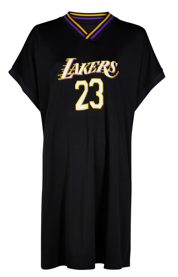 Abito nero in jersey NBA LA Lakers