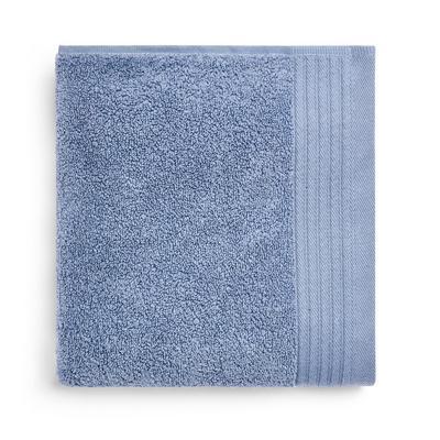 Blaues, ultraweiches Handtuch