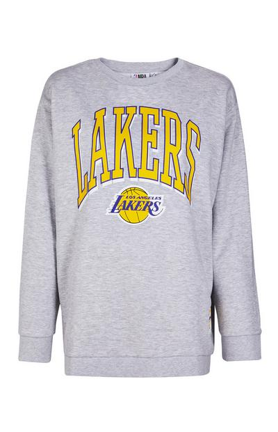 Gray NBA LA Lakers Sweatshirt