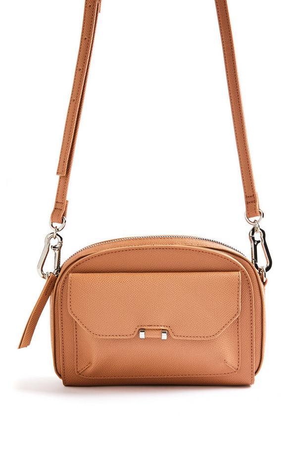 Tan Front Pocket Camera Bag