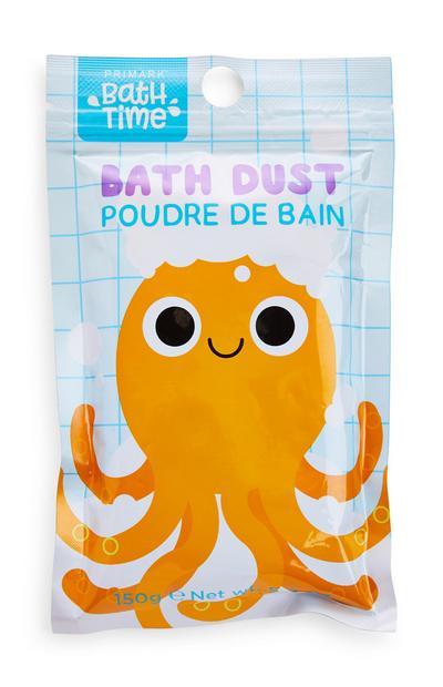 Bath Time Octopus Print Bath Dust