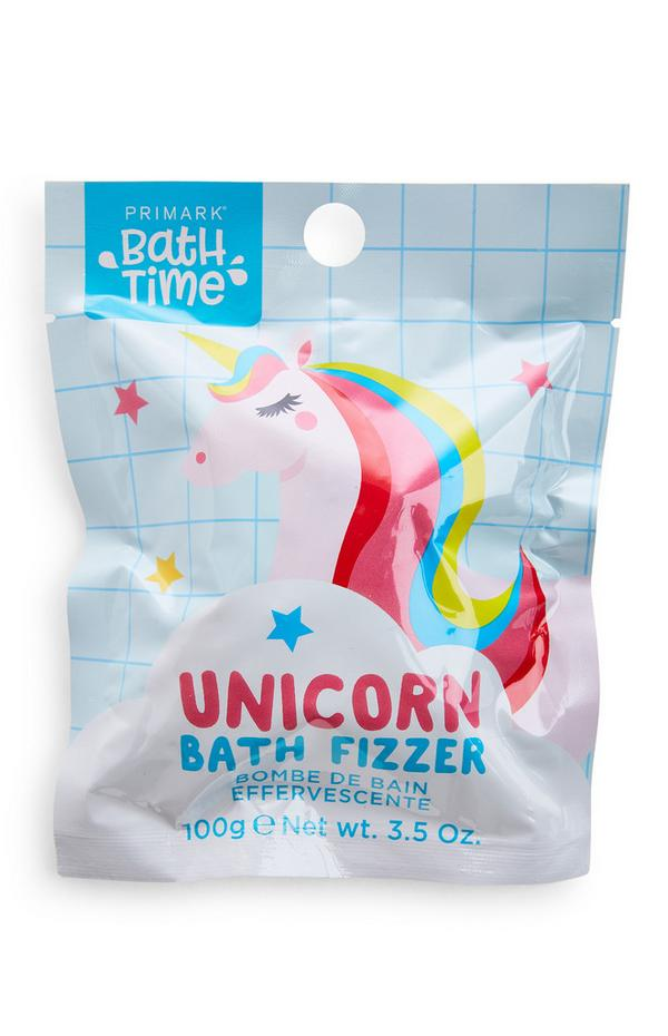 Bath Time Unicorn Rainbow Fizzer