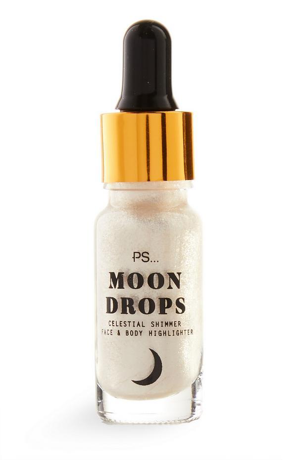 Highlighter voor gezicht en lichaam PS Cosmic Moon Drops