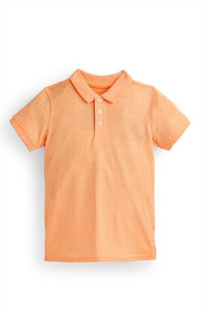 Polo arancione da bambino