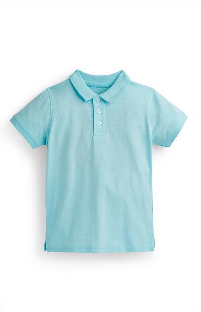 Blaues Poloshirt (kleine Jungen)