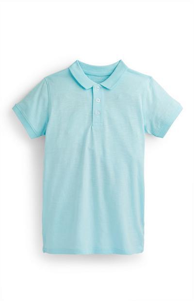 Blaues Poloshirt (Teeny Boys)