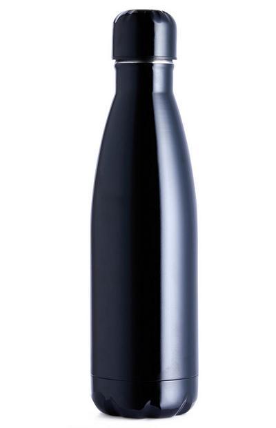 Zwarte fles van rvs, 500 ml