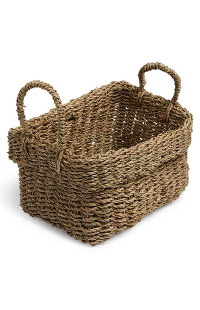 Medium Rectangle Seagrass Basket