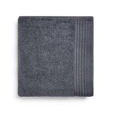 Anthrazitfarbenes, ultraweiches Handtuch