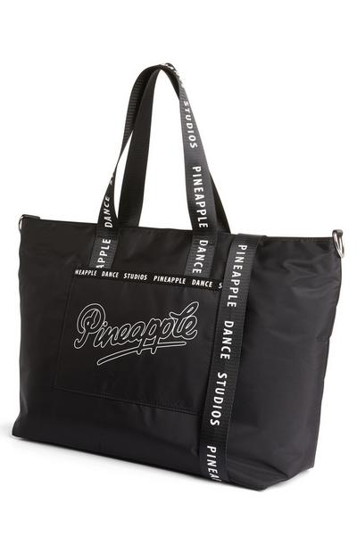 Borsa shopper in nylon Pineapple