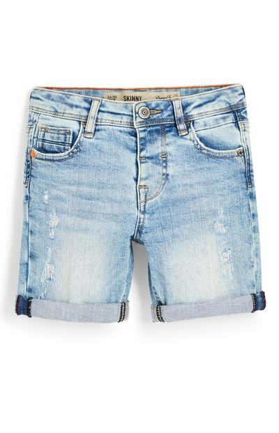 Younger Boy Faded Denim Shorts