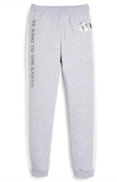 Pantalón de chándal gris con estampado de Mickey Mouse con el planeta de Primark Cares