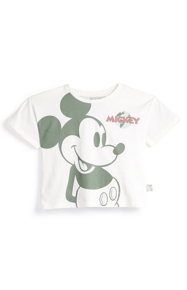 """Weißes """"Primark Cares featuring Disney"""" Micky Maus T-Shirt (kleine Mädchen)"""