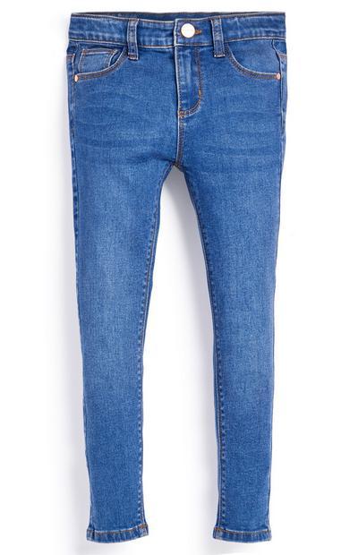 Jeans skinny elasticizzati da bambina