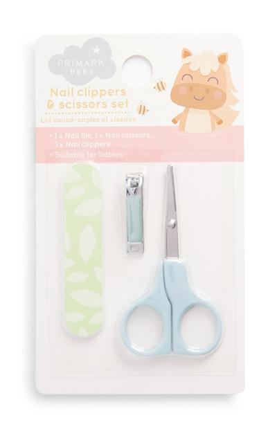 Nagelknippers en -schaartje voor baby's