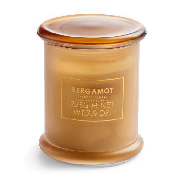 Bergamot Suction Lid Candle