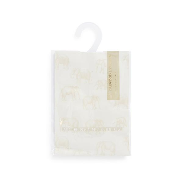 White Elephant Printed Cedarwood And Vanilla Room Sachet