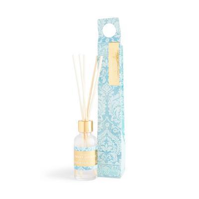 """Kleiner blauer """"Sweet Jasmine"""" Raumduft mit Print, 30 ml"""