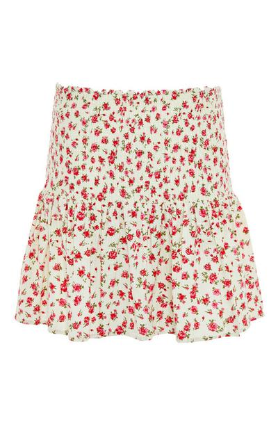 Floral Ditsy Mini Skirt