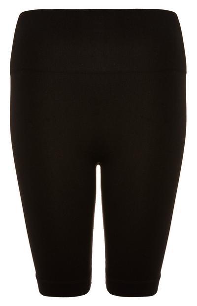 Black Seamfree Shorts