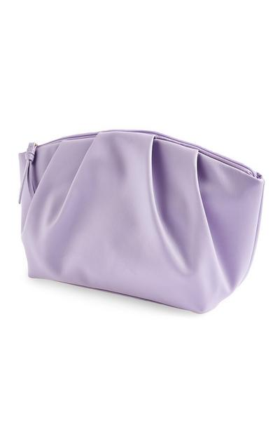 Purple Soft Volume Washbag