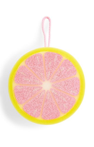 Schwamm mit Grapefruit-Motiv