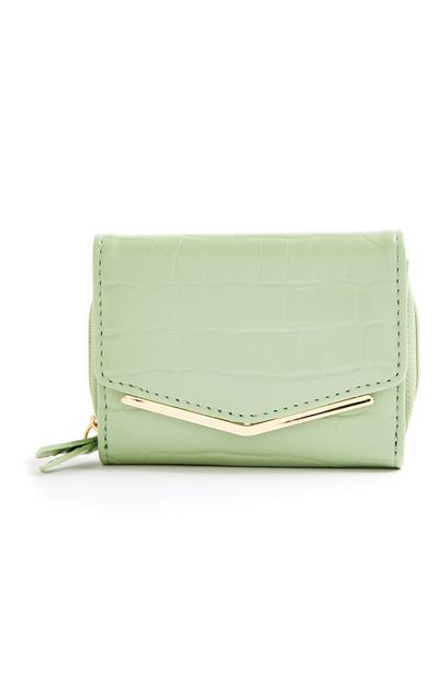 Mint Clean Envelope Medium Purse