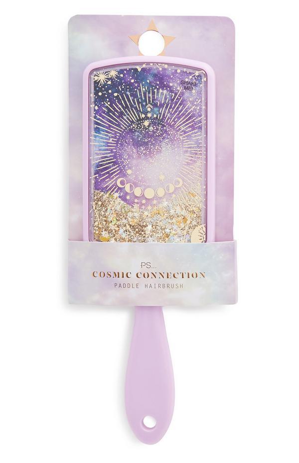 Spazzola piatta glitterata Ps Cosmic Connection