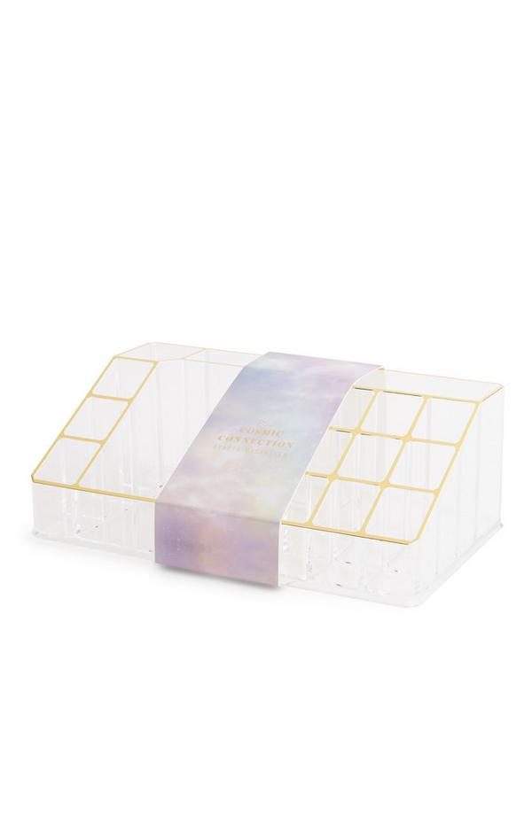 PS Cosmic Connection transparante beauty-organizer