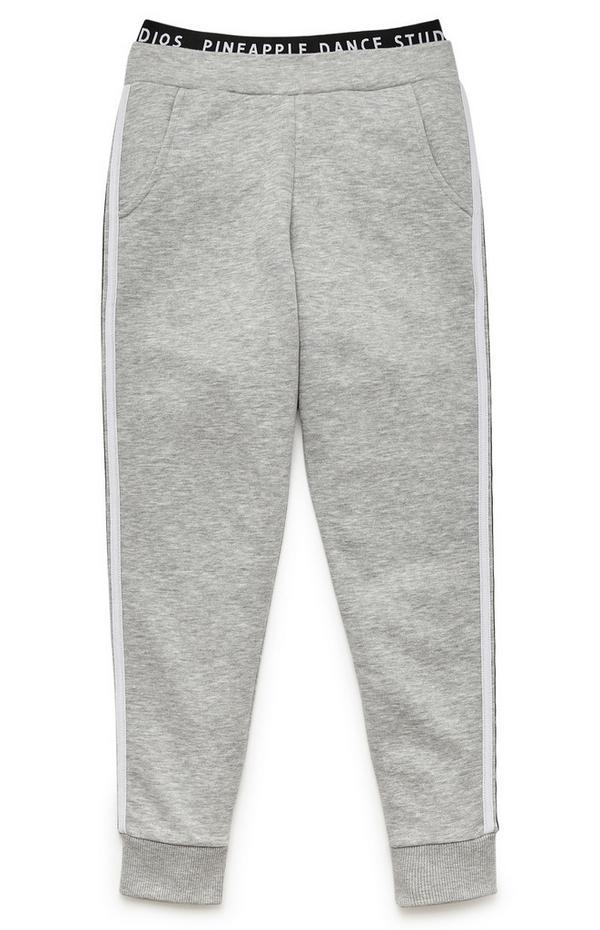Sive hlače za prosti čas Pineapple za starejša dekleta