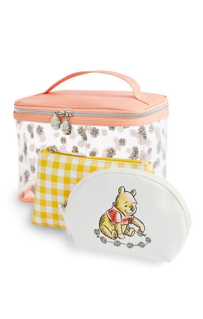 Lot de 3 trousses de toilette Winnie l'ourson