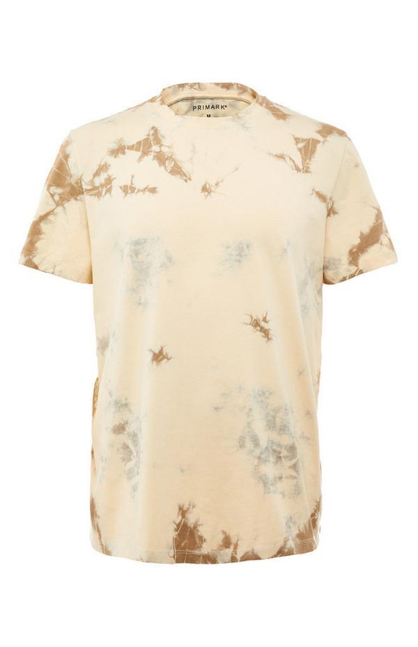 Beige Tye Dye T-Shirt
