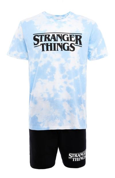 Pyjama tie and dye Stranger Things avec short