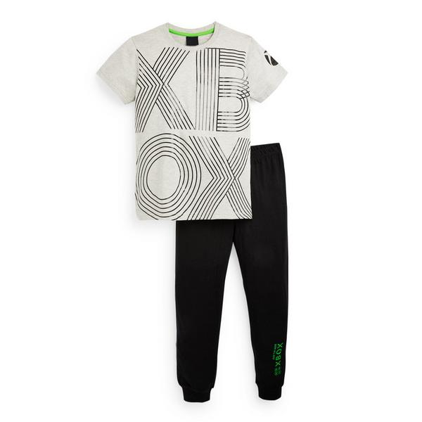 Older Boy Grey Xbox Pyjamas Set