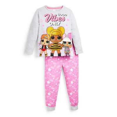Younger Girl Pink Lol Surprise Pyjamas Set