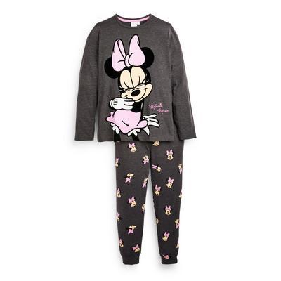 Pigiama antracite Minnie Disney da ragazza