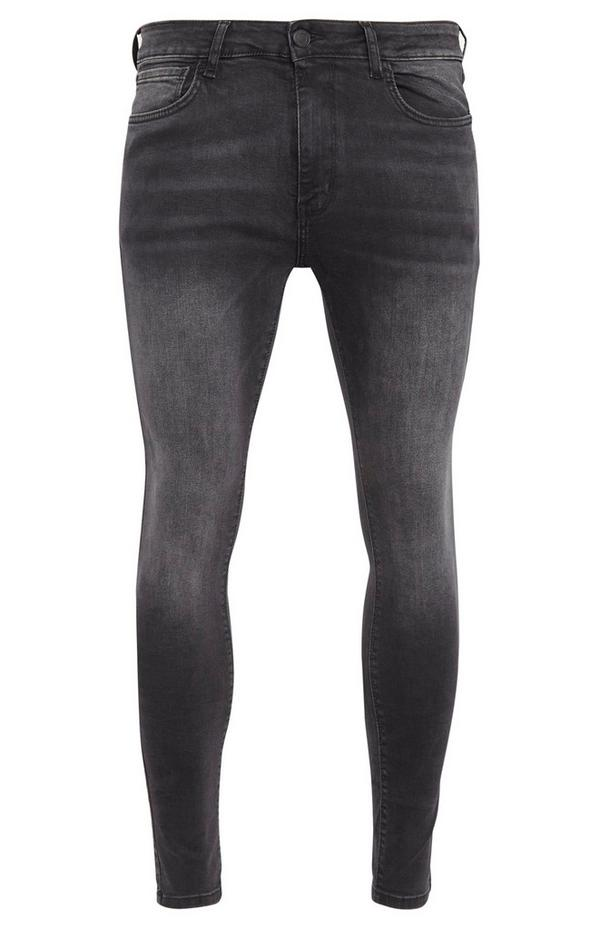 Charcoal Gray Super Skinny Jeans