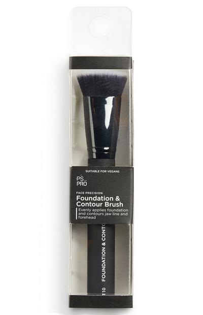 PS Pro foundation- & contourkwast voor gezicht